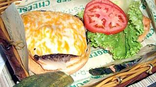 チーズバーガーインパラダイス