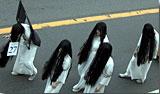 一番目立っていたかも?の和風ハロウィン代表「貞子」たち。まぢ怖いです。 photo by OptioS(edited)