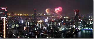 東京湾大華火祭・その3 photo by PENTAX OptioS