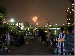 東京湾大華火祭・その4 photo by PENTAX OptioS
