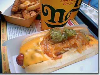 ネイサンズ・チリチーズドッグ