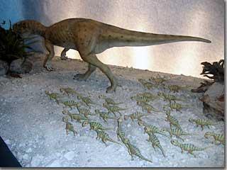 プシッタコサウルス photo by Ricoh RDC-7