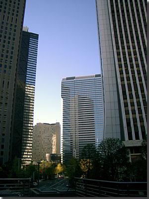 新宿西口高層ビル群 photo by OptioS