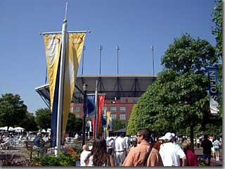 フラッシング・メドウ・コロナパーク・ナショナルテニスセンター photo by OptioS