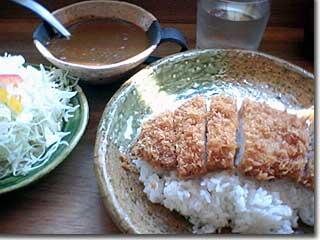 平田牧場 ロースカツカレー Photo by PEG-TH55