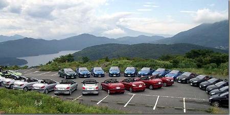 206CCと富士山+芦ノ湖 photo by OptioS