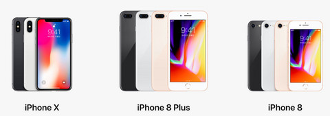 Iphonex8plus8color
