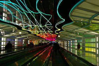 シカゴ・オヘア空港 photo by *istD