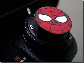 スパイダーマンの消しゴム photo by OptioS