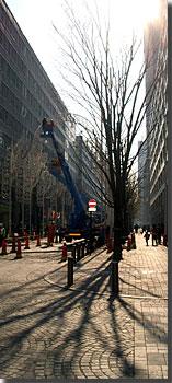 東京ミレナリオ2004撤去作業 photo by OptioS