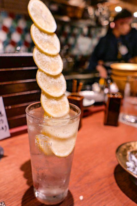びっくり生レモンサワー