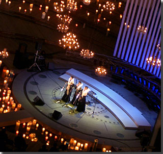 Holy Night Concert  in Roppongihills Arena performed by cappellatte photo by OptioS