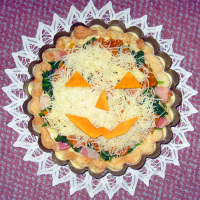 Halloweenquiche before