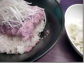 かつ玄「香味塩かつ丼(ひれ) photo by PEG-TH55