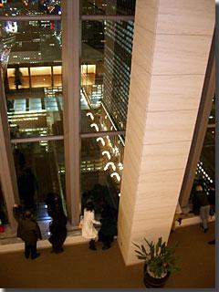 丸ビル35階を36階から photo by OptioS
