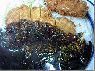 キッチン南海のカツコロカレー photo by PEG-TH55