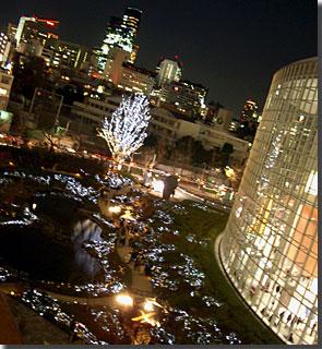夜の毛利庭園その2 photo by OptioS