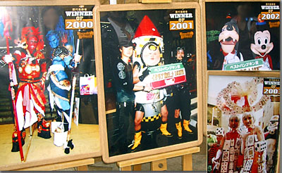 カワサキ・ハロウィン仮装パレード・歴代の優勝者 2002年のは「まんま」じゃぁ… photo by OptioS edited