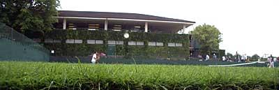 ウィンブルドンの芝生