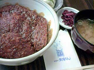 みそかつ丼定食 サラダとみそ汁付き photo by PEG-TH55