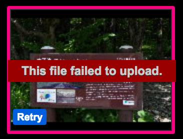 Failedtoupload