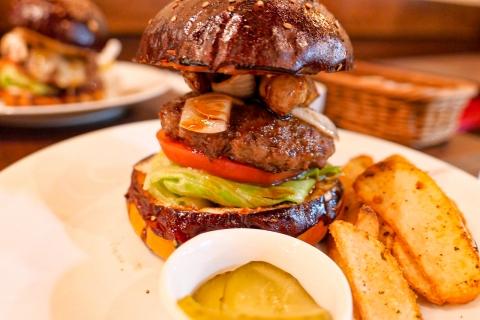 Luxe burgers rossini burger